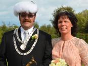 König Guido Janßen mit Frau Claudia. Fotos: Marvin Hoffmann