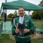 Den dritten Preis (linker Flügel) schoss Frank Schwebs